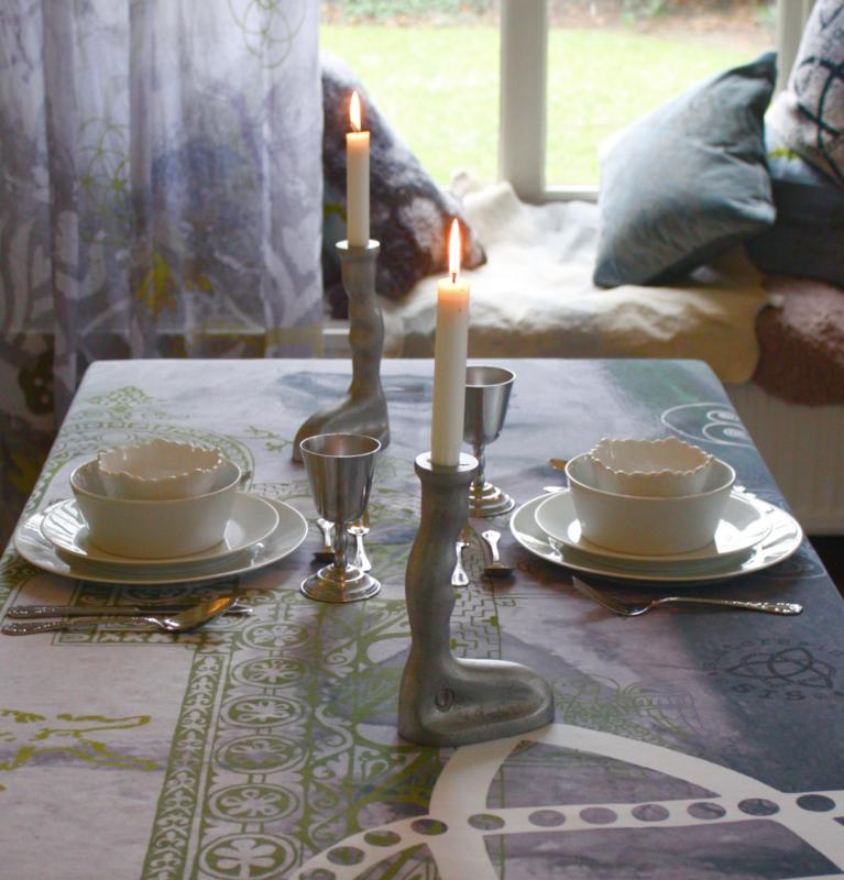"""Tablecloth """"Morningstar Mist"""""""