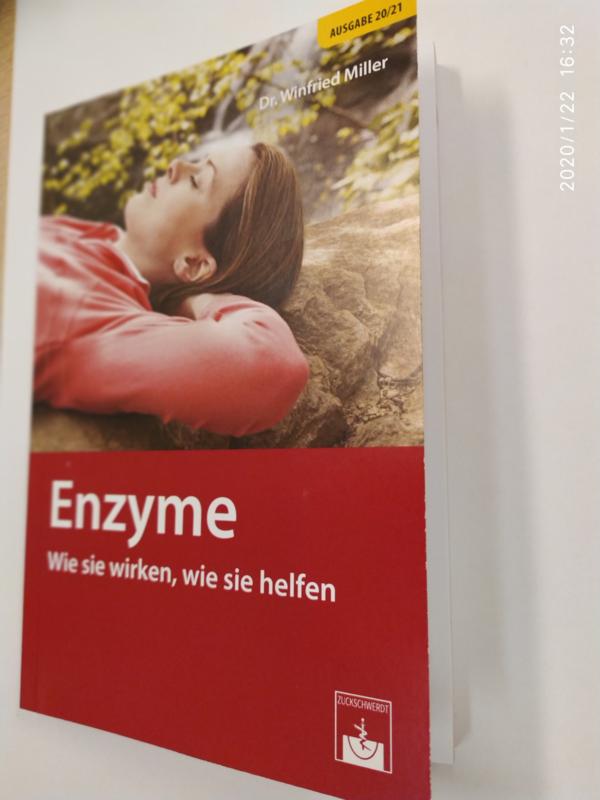 """Das Buch """"Enzyme wie sie wirken, wie sie helfen"""" (Nur zusammen mit einer Bestellung Interzym-Exuzym)"""