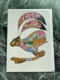 Kaart Brown Hare