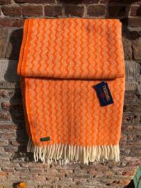 Plaid: ZigZag Orange