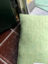 Harris Tweed Visgraat Groen Small