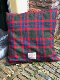Harris Tweed Groen/Blauw/Rood