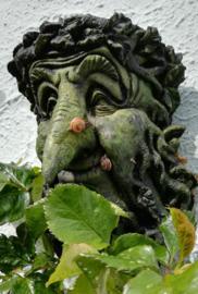 Groene Treebeard met bewoners