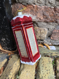 Britse telefooncel Kerstdecoratie
