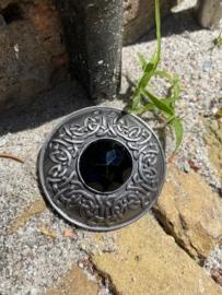 Keltische broche met steen Zilver