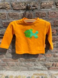 Baby T-shirt Stip Oranje