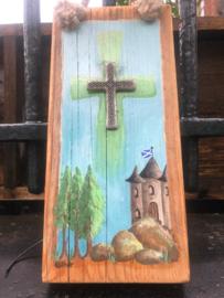 Kruis op hout