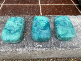 Felted Soap Aqua