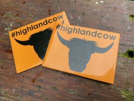 Magneet #highlandcow
