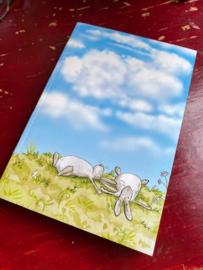 Anita Jeram Cloud Watching Notebook groot