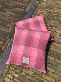 Harris Tweed Oud Roze ruit