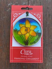 Glas-in-lood Welsh Daffodil