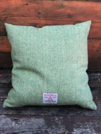 Harris Tweed Groene Visgraat