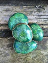 Geluks-steen Groen