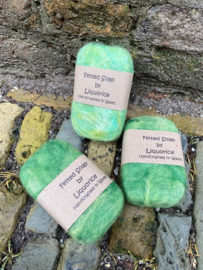 Felted Soap Groen