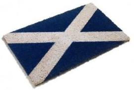 Saltire / Schotse Kokos deurmat