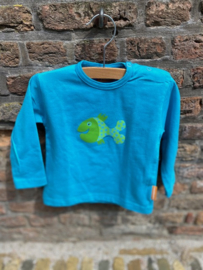 Baby T-shirt Stip Turquoise