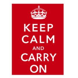 Kaart CC365 Keep Calm and Carry On
