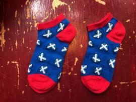 Schotse sokken Hemelsblauw