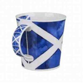 Saltire Mok (Schotse Vlag) van Dunoon