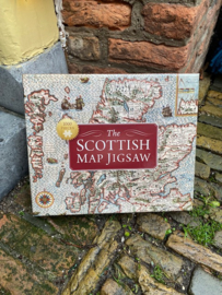 Puzzel The Scottish Map Jigsaw