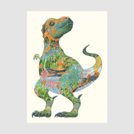 Kaart Tyrannosaurus Rex