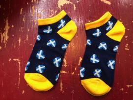 Schotse sokken Donkerblauw