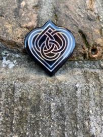Keltisch magneetje Hartenknoop