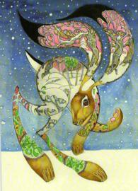 Daniel Mackie - Hare in the snow