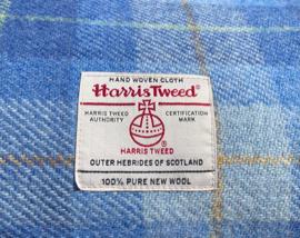 Harris Tweed Lichtblauwe ruit