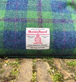 Harris Tweed Groen/Blauw/Paars geruit