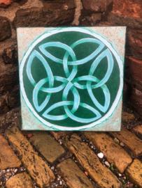Celtic Shield Donker/Lichtgroen