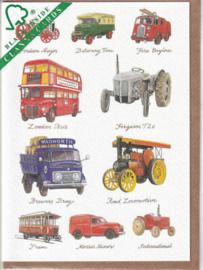 Kaart CC3230 Vintage Vehicles