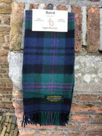 Lamswollen scarf in Baird ruit
