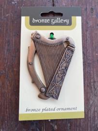 Ierse harp ornament