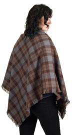 Outlander Tartan Woollen Shawl (Omslagdoek)