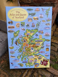 Puzzel The Atlas and Jigsaw of Scotland