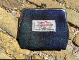 Harris Tweed portemonnee Black Watch
