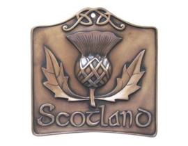 Scottish thistle ornament