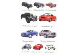 Kaart CC308 Bentleys