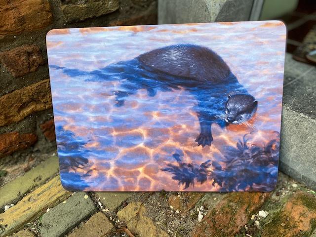 Julian Friers Placemat Otter