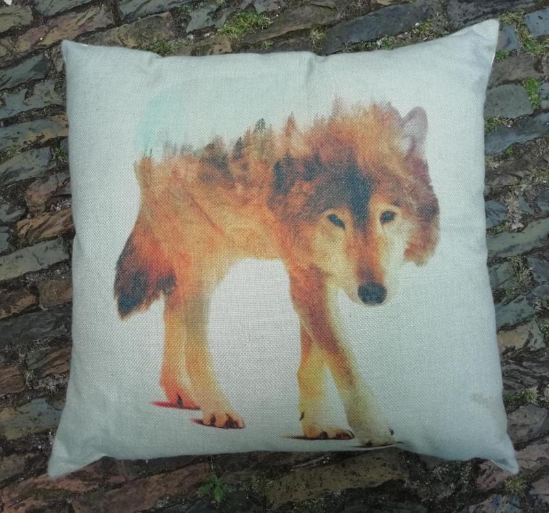 Wolf & Boslandschap
