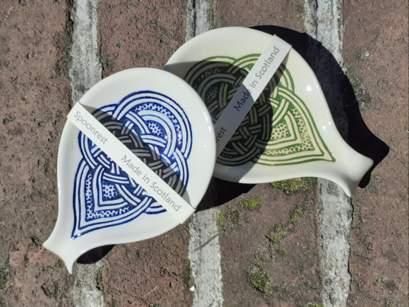 Keltische Lepel houders