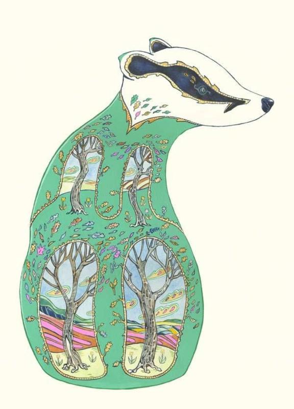Kaart Green Badger