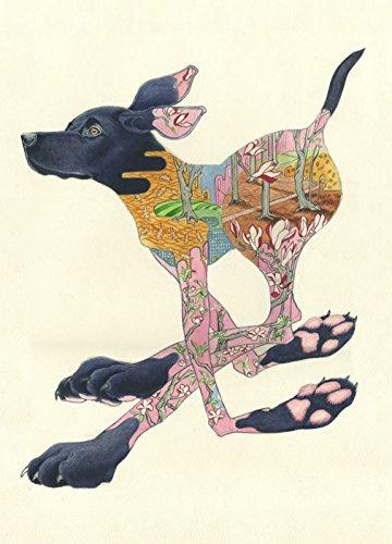 Kaart Black Labrador
