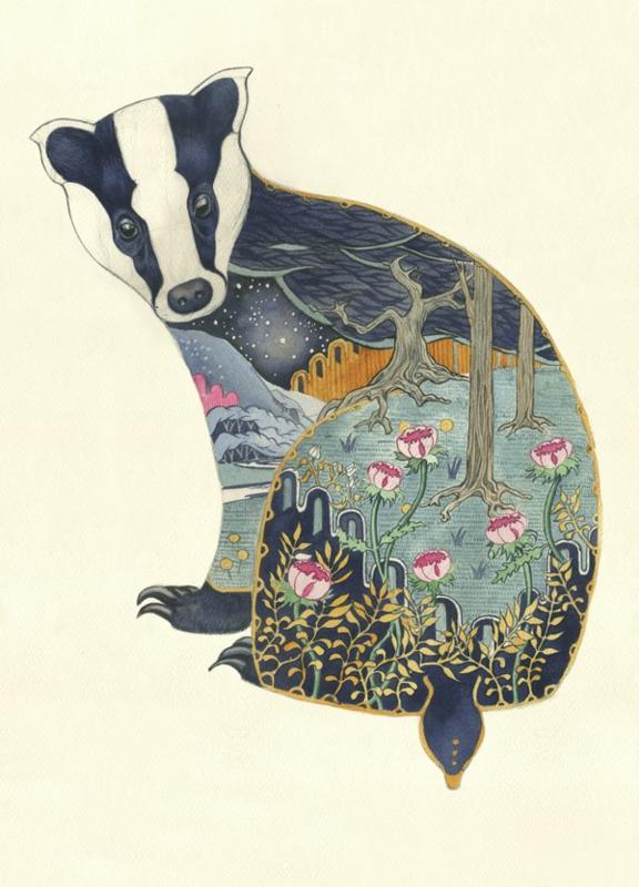 Kaart Badger