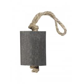 Hanger Blok XL 125 gram grijs, parfum groene thee