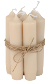 Short dinner candle sand