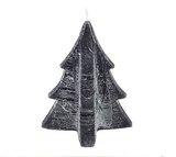 Kerstboom Kaars L Black