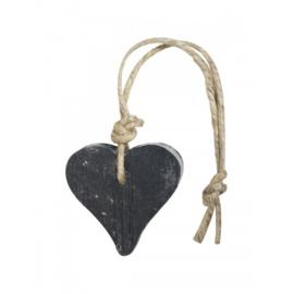 Hanger hart zwart 55 gram parfum lavendel